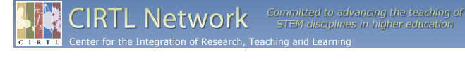 CIRTL Network banner with slogan Committed to advancing the teaching of STEM disciplines in higher education